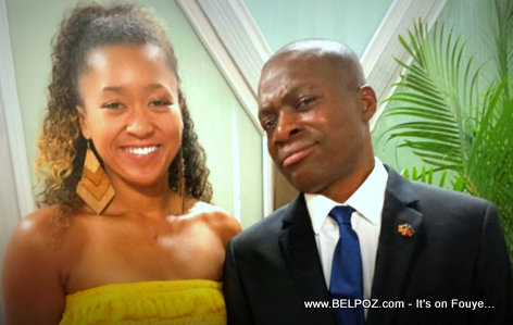 Japanese Tennis Champion Naomi Osaka and her Haitian Dad Leonard Francois