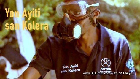 Yon Ayiti san Cholera - Combatting cholera in Haiti