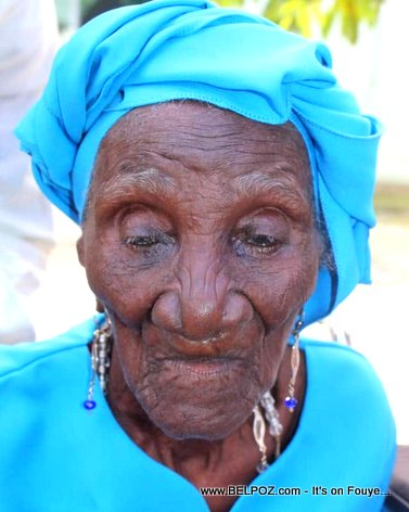 Madame Jeanbart - Haitians over 100 years old