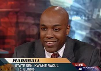 Kwame Raoul On MSNBC Hardball