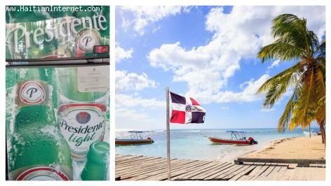 Tourism -  From a cold Prestige beer in a southern Haiti beach to cervezas en la playa en la Republica Dominicana