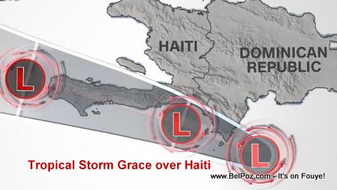 Tropical Storm Grace Soaks Earthquake Battered Haiti