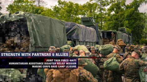 U.S. military getting ready to go to Haiti