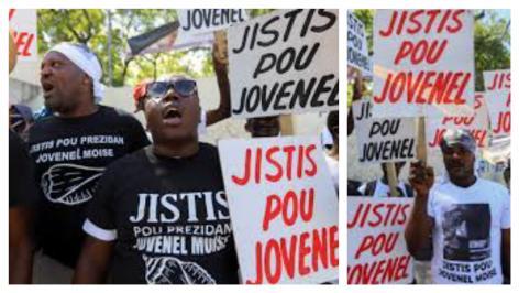 The people in Haiti calling