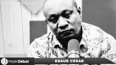 Esaue Cesar is a well-known Haitian journalist and former member of the National Police Force