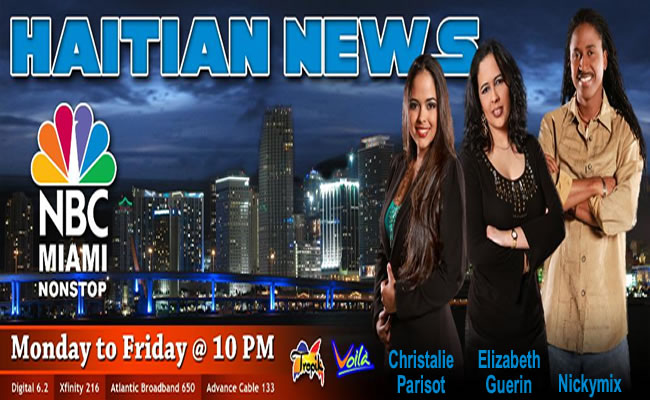 Haitian News On NBC Miami NonStop