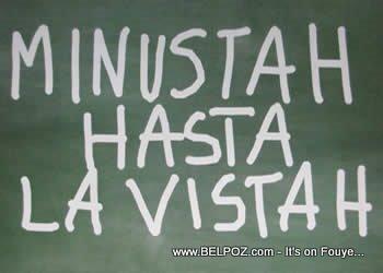 MINUSTAH - Hasta La Vistah