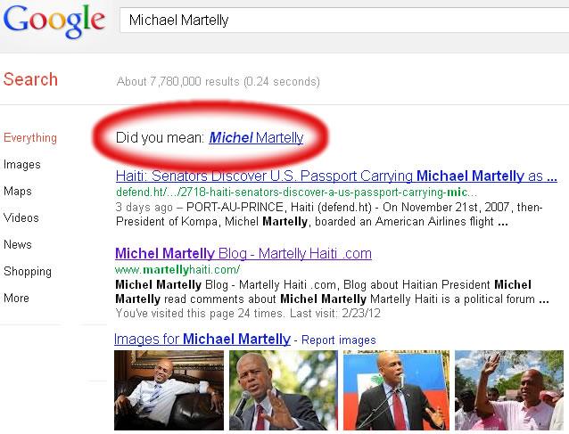 President Michel Martelly, Alias Michael Martelly, American?
