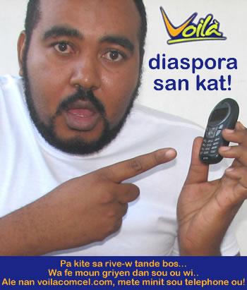 Voila Haiti Cell Phone Company