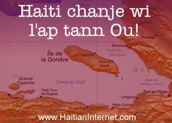 Haiti Change wi, l-ap tann ou