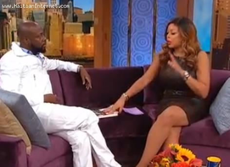 Wyclef Jean on the Wendy Williams Show