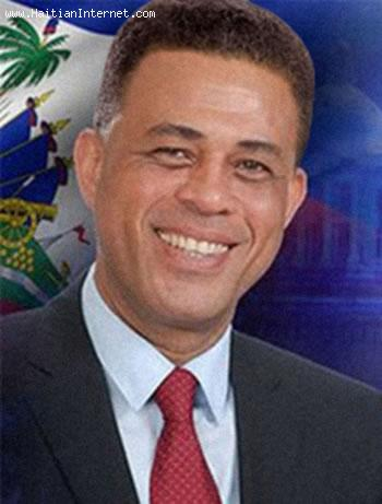 President Michel Martelly with a Full Head of Hair