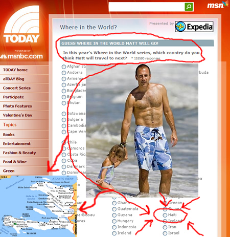 Where in the World is Matt Lauer - Haiti