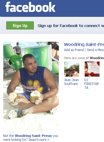 Woodring Saint Preux on Facebook