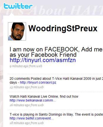Woodring Saint Preux on Twitter