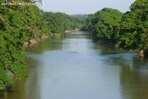 The Guayamouc River, Riviere Guayamouc, Hinche Haiti