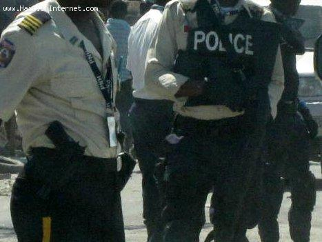 Haitian Police Officers