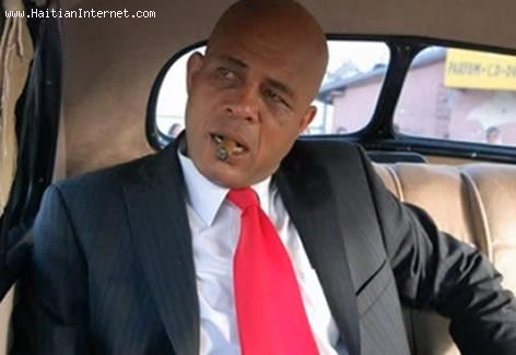 President Mitchele Matalla, Bandi Legal - Michel Martelly