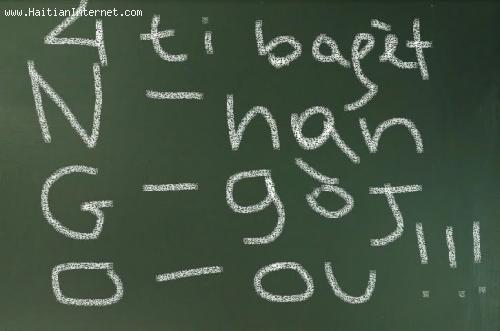 Haiti NGOs - 4 Ti Baget Nan Goj Ou!