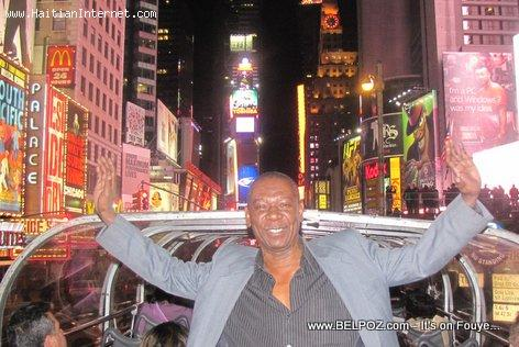 Haitian Tourist in New York City