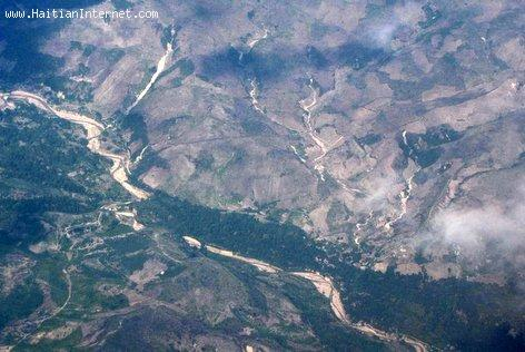 Deforestation in Haiti - View from the Air
