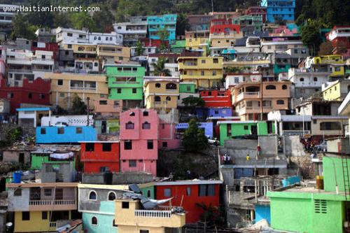 Haiti - Jalousie Slum In Living Color