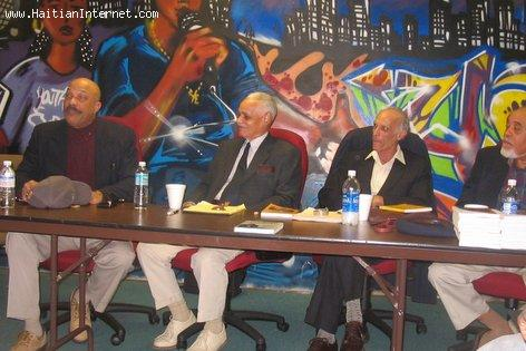 Haitian Writers - Little Haiti Book Fair, 2004