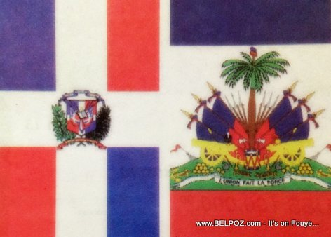 Flag of Haiti And Dominican Republic