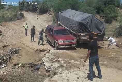 Haiti Dirt Roads - Boc Banic, Near The Dominican Border