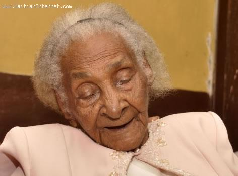 Alcima Fenelus - One of the Oldest Women in the World, Lives in Haiti