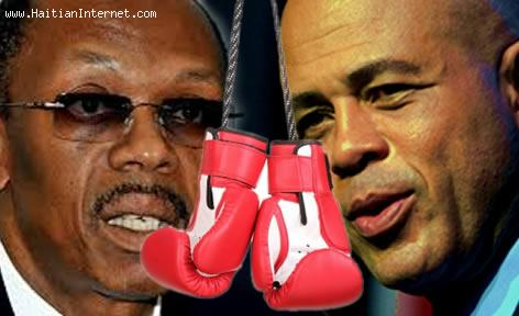 Aristide Vs. Martelly - Let's Get Ready To Rumble...