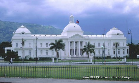 Haiti National Palace... Once upon a time in Haiti...