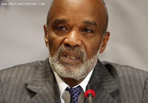 Rene Preval - Former President Of Haiti