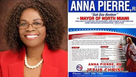 Anna Pierre, Candidate For Mayor, Endorsed by Jesus Christ