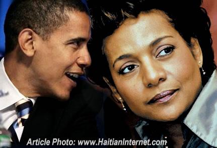 Barack Obama, Michaelle Jean