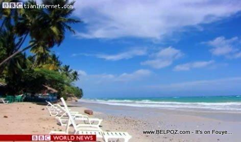 Beautiful Caribbean beach in Jacmel Haiti