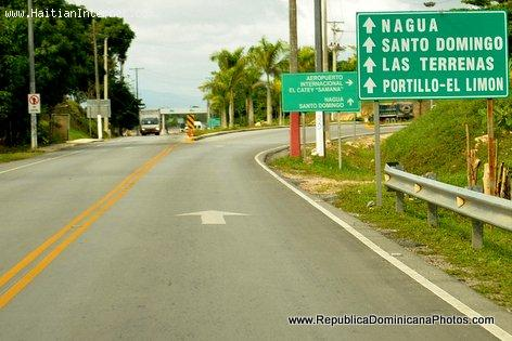 Roads in The Dominican Republic - Samana