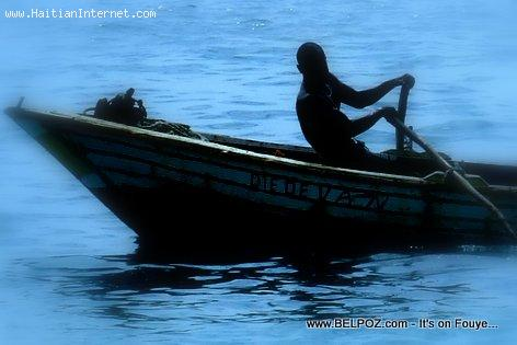 A Small Fishing Boat in Haiti
