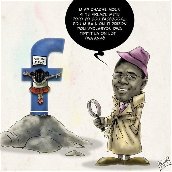 Haitiens, veye kisa nou poste sou facebook
