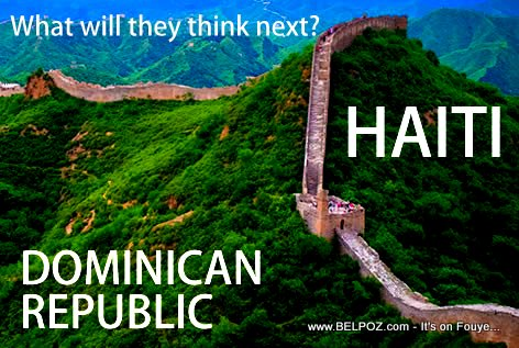 Build a wall to Separate Haiti and Dominican Republic