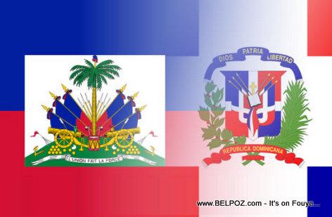 Haiti Dominican Flag