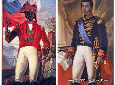 Haiti - Jean-Jacques Dessalines and Alexandre Petion