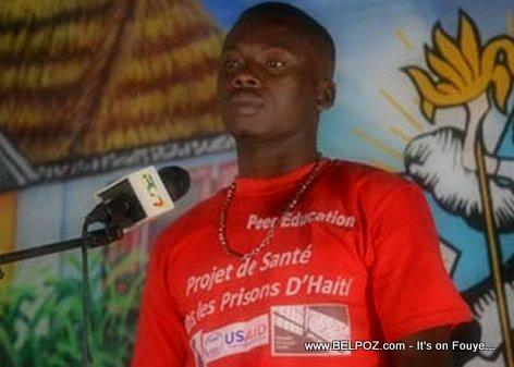 Jonas Charlot, Un prisonnier sorti de prison pour participer à un concours de musique aux Cayes