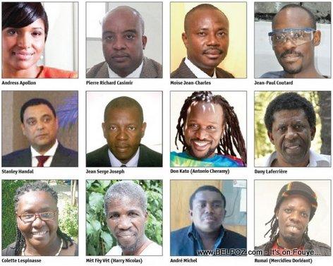 Haiti 2013 - Les Personnes De l'Annee - Le Nouvellistes List