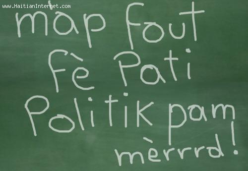 HAITI - M'ap fe pati politik pam