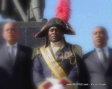 Jimmy Jean Louis Commemorates the Death of Toussaint Louverture