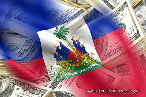 Money - Foreign aid to Haiti