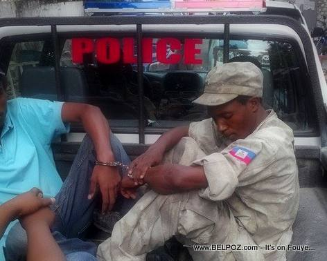 Johny Biguine - Fake policeman arrested in Haiti