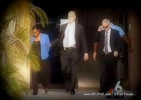 Haitian North Miami Mayor Lucie Tondreau in Handcuffs