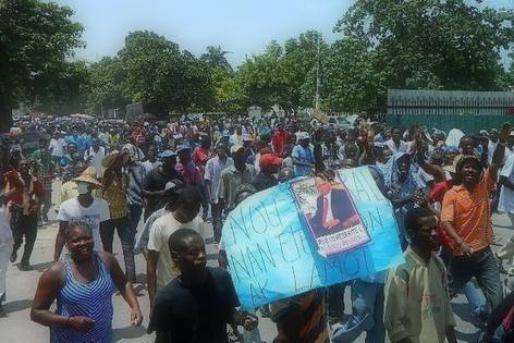 Manifestation Anti-Martelly Haiti 10 Juin 2014